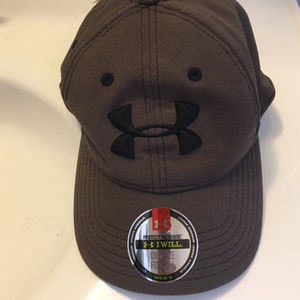 Brown Dry & Light Hurley Under Armour Cap